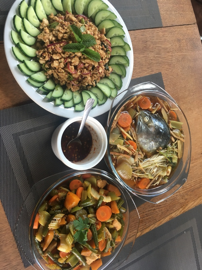 Yumi's home cooked Thai dishes!