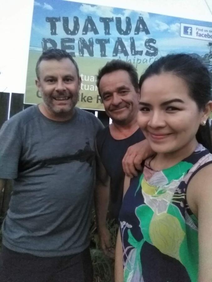 The legendary Greg & Yumi + hiker trash :)